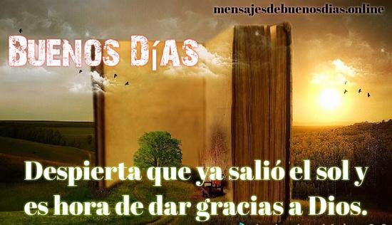 hermoso dia cristiano para todos