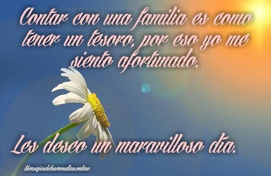 Buenos Días Familia Muy Buenos Días