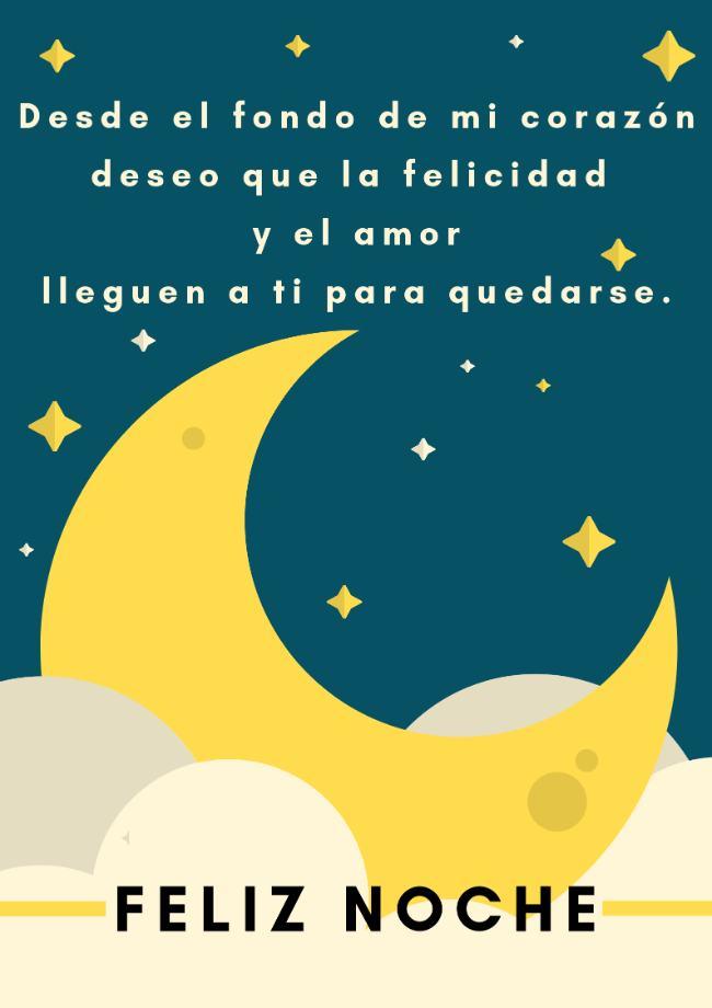 mensajes lindos de buenas noches