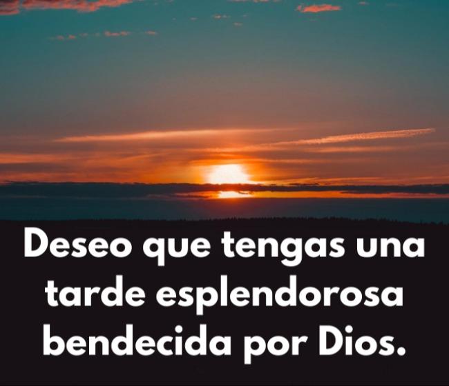 gratis mensajes de buenas tardes dios te bendiga