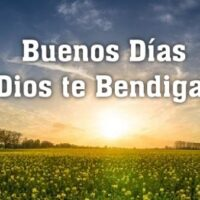 buenos dias dios te bendiga frases