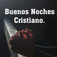 feliz noche cristiano