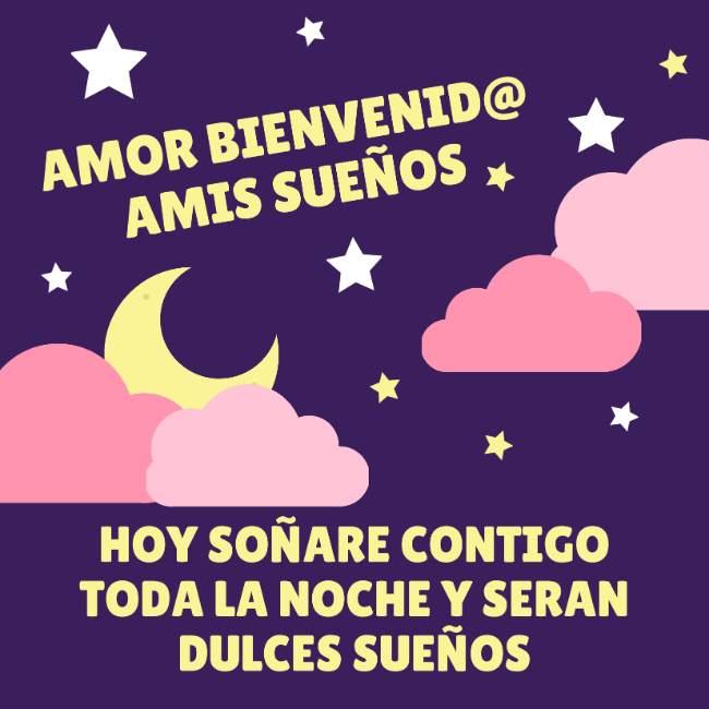 buenas noches mi amor te extraño